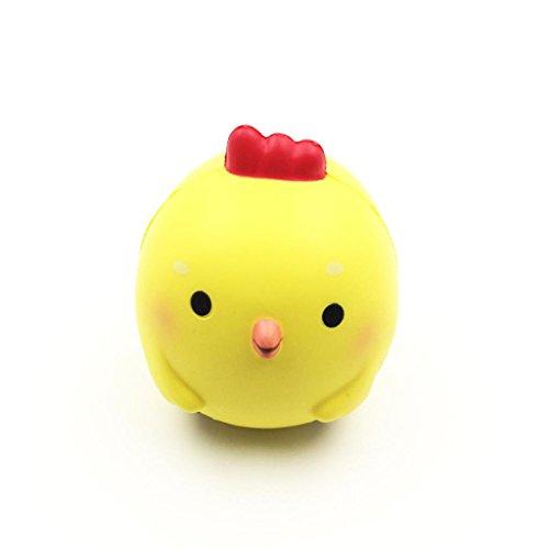 Cute Chicken (Squishy Spielzeug, fat. chot Cute Chicken Baby Animal langsam Rising Squeeze Funny Soft Duft Cure Dekoration Geschenk lindert Stress Amazing Toys für Kinder Erwachsene)