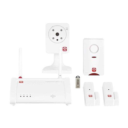 KIT de Alarma Inteligente para Casa OPLINK. Sin cuotas, sin costes de instalación y 100% inalámbrica. Con envío de alertas y vídeo en directo a su teléfono móvil.