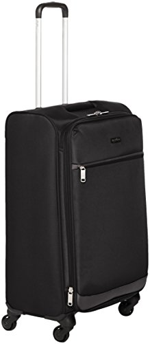 AmazonBasics - Roll-Reisetrolley, 66.5 cm, Schwarz