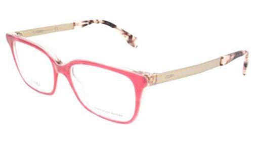 Fendi Damen FF 0077 E17/17-50-17-140 Brillengestelle, Pink, 50