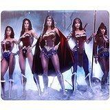 Personalisierte Rechteck rutschfeste Mauspad DC Comics Kostüm Wonder Woman Maßgeschneiderte Design Top Qualität wasserabweisend, länglich, Soft Gaming Maus Pads