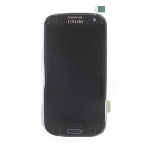 BEST2MOVIL Complet LCD + ÉCRAN Tactile + Cadre Compatible avec Samsung Galaxy S3 I9305 LTE Noir