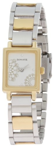 Sonata Wedding Analog Silver Dial Women's Watch - 8080BM01