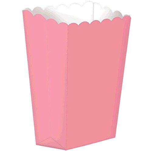 Amscan Fun Small Popcorn Box, 5-1/4 x 3-3/4