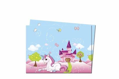 Mantel plástico unicornio 120x 180cm