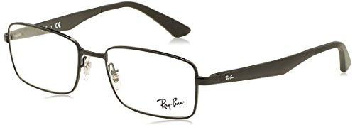 Ray-Ban Herren Brillengestell Grau Metallic