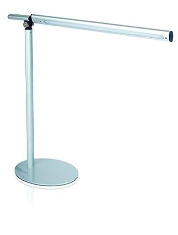 Helix 525210 Upright LED Aluminium 4W Adjustable Arm Touch Desk Lamp Light