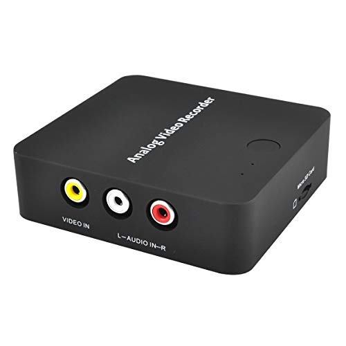 VTOP Video Grabber Video Capture Card - Analog Digital Video Recorder - Convert Hi 8 Video Tapes to Digital Formats via Micro SD Card(Not Inclued)