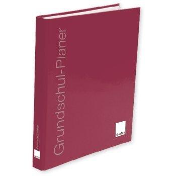 TimeTex Ringbuch-Ordner Bordeaux leer - geeignet für die Loseblattausgabe des Grundschul-Planers A4-Plus - Lehrerkalender - Terminplaner - Lehrerplaner - Unterrichtsplaner - Schulplaner - 10721