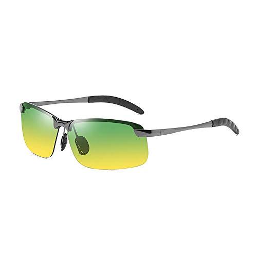 SHUNYUS Night Vision Sonnenbrillen, Radfahren Brillen Tag und Nacht Sonnenbrillen Outdoor Reiten Farbwechsel Polarisierte Gläser Für Outdoor-Reisen