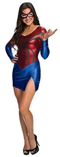 Generique - Sexy Spider-Girl-Kostüm für Damen M