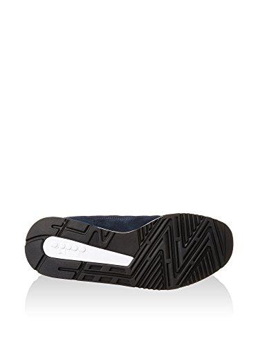 Diadora Unisex – Adulto V7000 Nyl Ii scarpe sportive Blu/Giallo
