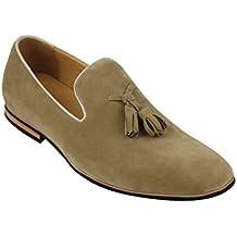 Zapatillas de Piel sintética para Hombre con diseño de Borla ...