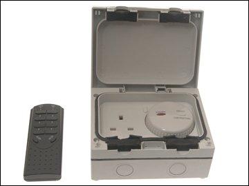 Ip66 Single Socket With Rf Control - EU/UK