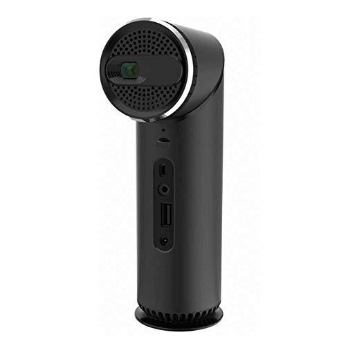 OFZYG Intelligenter Projektor WiFi führte Projektor-Mini beweglichen Innenministerium-intelligenten Projektions-Taschen-Projektor HiFi Speake des Gerät-Dlp