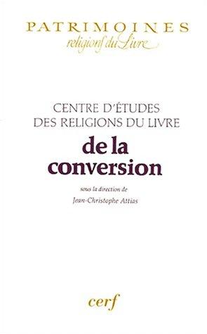 De la conversion