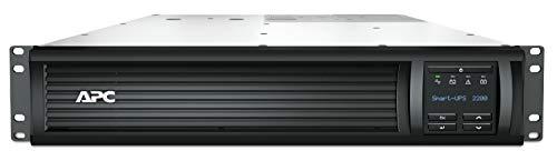 APC Smart-UPS SMT-SmartConnect - SMT2200RMI2UC - Unterbrechungsfreie Stromversorgung 2.200VA (Rackeinbau 2U, Cloud-monitoring fähig, 8 Ausgänge IEC-C13)