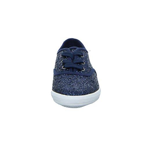 Tom Tailor 2772803 Mädchen Schnürhalbschuh sportlicher Boden Blau (Blau)