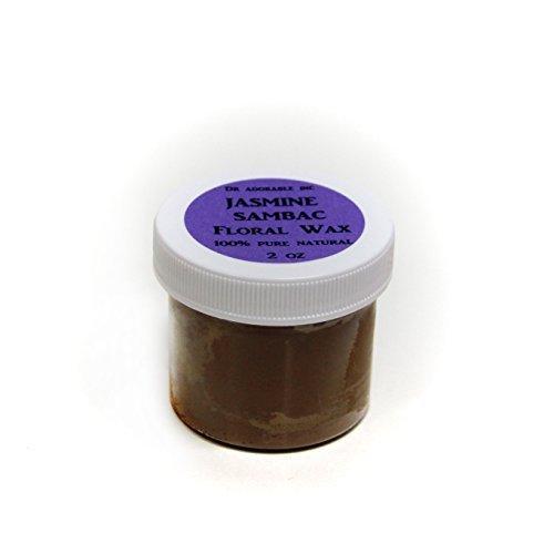 Jasmine Sambac Floral Wax 100% Pure 2oz