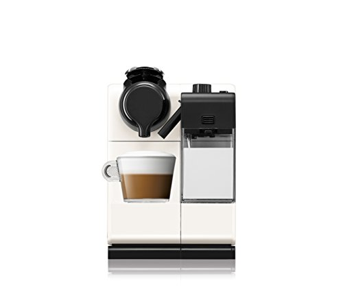 Nespresso EN550.W Lattissima Touch Automatic Coffee Machine, White