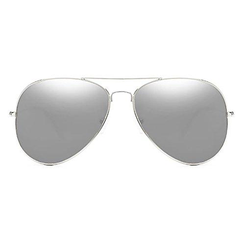 HGyanjing Heiße Mode Sonnenbrille UV-Schutzbrille Herrenbrille Driving-Sonnenbrille Männliche Fahrerbrille Spiegel Gehärtetes Glas-Objektiv Angeln Sonnenbrille (Farbe : D) (Vakuum-objektiv)