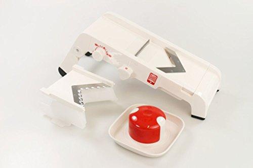 TUPPERWARE Mando-Chef rot-weiß Chef Reibe 9954