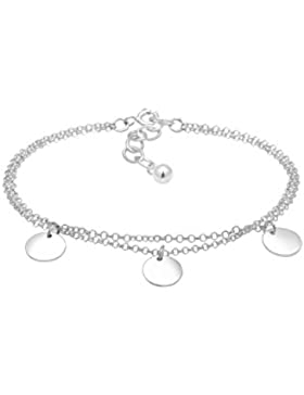 Elli Damen-Armband Kreis 925