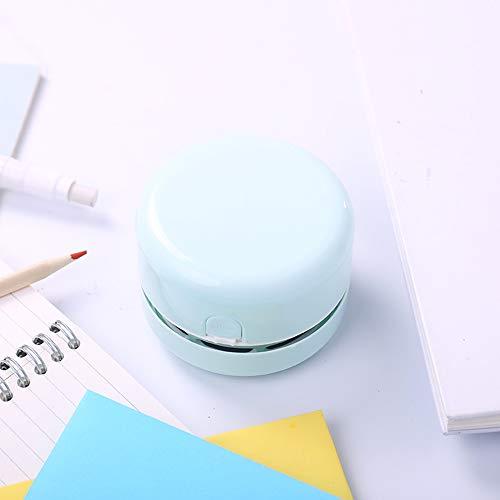 Unbekannt Staubsauger Handstaubsauger Desktop Cleaner Electric Radiergummi Staubsauger Radiergummi Chipper (2 Farben) Handstaubsauger (Farbe : Green)