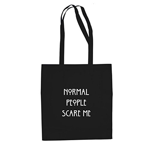 Normal People scare me - Stofftasche / Beutel, Farbe: (Kostüm Tata Box)