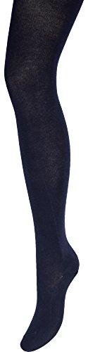 Merry Style Mädchen Strumpfhose aus Baumwolle W28 (Navy-B94, 128-134) (Baumwoll-strumpfhose Kinder)