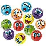Antisress Palla 12 Pezzi Stress Rilievo Palla Giocattolo Dito Mano Ginnico Terapia Strumento (6 Colori)