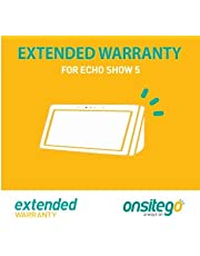 Onsitego 2 Year Extended Warranty for Echo Show 5 (Email Delivery)