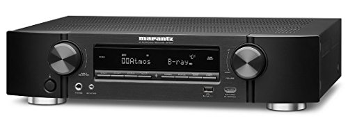 Marantz NR1607 7.2 Surround AV-Receiver (WLAN, Internet-Radio, HDMI, AirPlay, 90W) schwarz Av 4 Eingang-audio-video