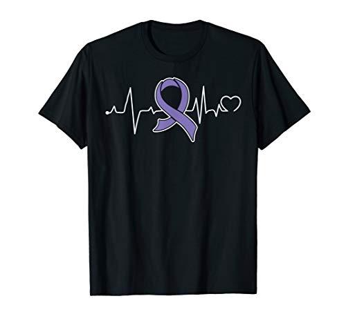 Hodgkins-Lymphom-Krebs-Bewusstseins-Stützband T-Shirt
