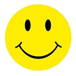 Autoaufkleber Sticker Smile / Smiley rund NEU Aufkleber