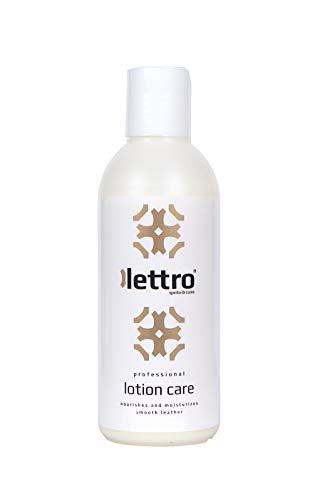 Lettro Lotion Care , Premium Lederpflege Lotion und Leather Conditioner, Transparent (Neutral) , 200 ml -