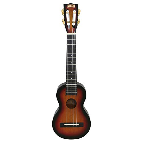 Mahalo MJ1/CS3TS Java Series long neck soprano ukulele