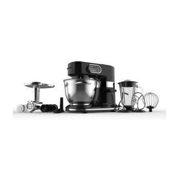 Continental Edison - CERB100WB Continental Edison - Robot professionnel 1000 W noir + accessoires