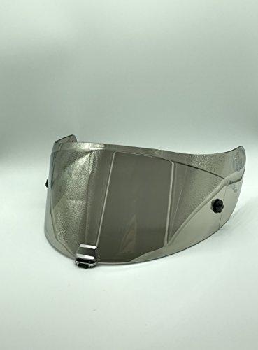 Hjc Hj-26 - Visière de rechange pour casque de moto RPHA11 - Argent iridium