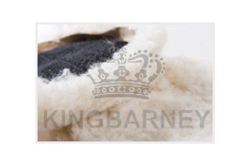 2x Polierfell 200mm Klett für die perfekte Lackfinish-Arbeit / KfZ-Lackaufbereitung aus reiner Wolle