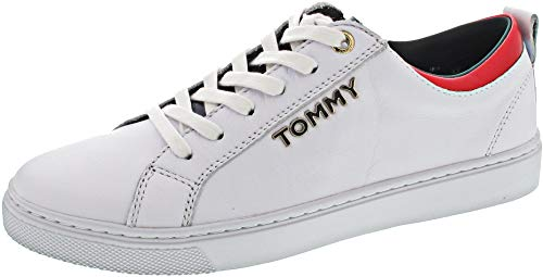 Tommy Hilfiger FW0FW03776 - Damen Schuhe Sneaker - 100-white, Größe:39 EU