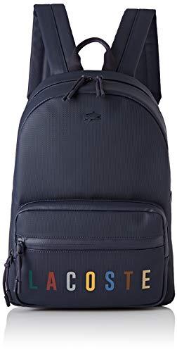 Lacoste Herren L.12.12 Concept Fantaisie Rucksack, Blau (Dark Sapphire), 11.5x41x29 centimeters