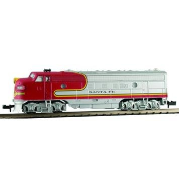 Model Power Spur N - Diesellok EMD FP7A Santa Fe Digital mit Sound