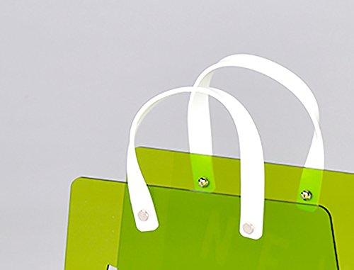 Meubletmoi portariviste borsa plexiglass verde u2013 range magazines