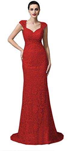 Ikerenwedding - Robe - Moulante - Femme red