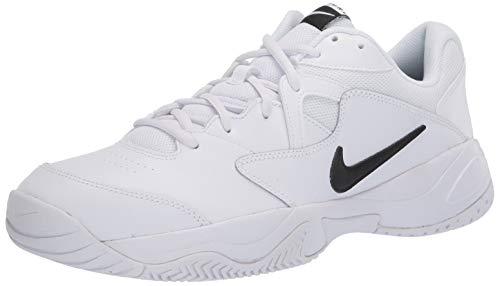 Nike Herren Court Lite 2 Tennisschuhe, Weiß (White/Black/White 100), 46 EU