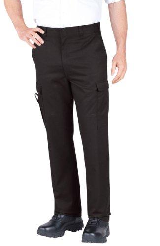 Dickies 211-2377 Emt Pant, 42W x UU, Black (Black Pant Emt)