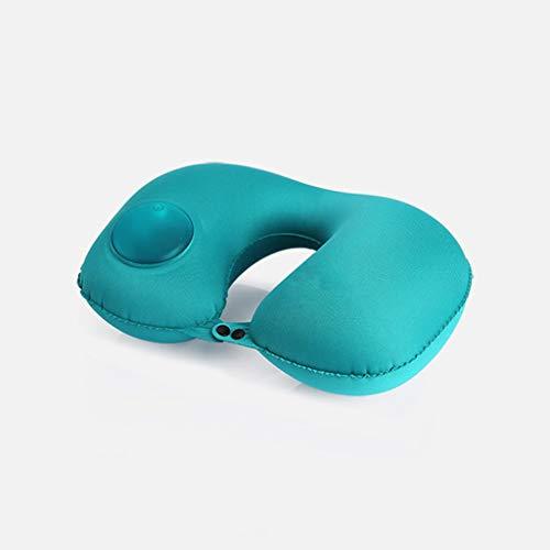 QYLOZ Forma De U Viaje Alta Elasticidad Impermeable Protección del Cuello Artefacto del Sueño Almuerzo...