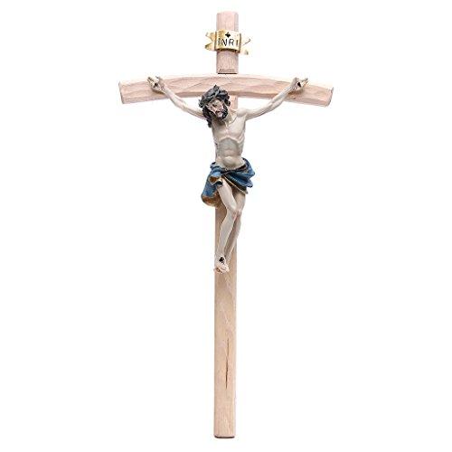 Kruzifix 55x29 Harz und Holz