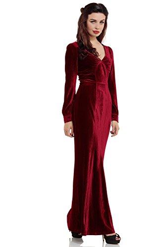 Voodoo Vixen -  Vestito  - Donna Red 48